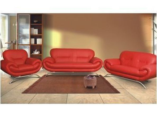 Italian Designer Leather Sofa Set (3 + 1 Piece)